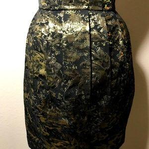Sweet Rain Dresses - Black Golden Dress